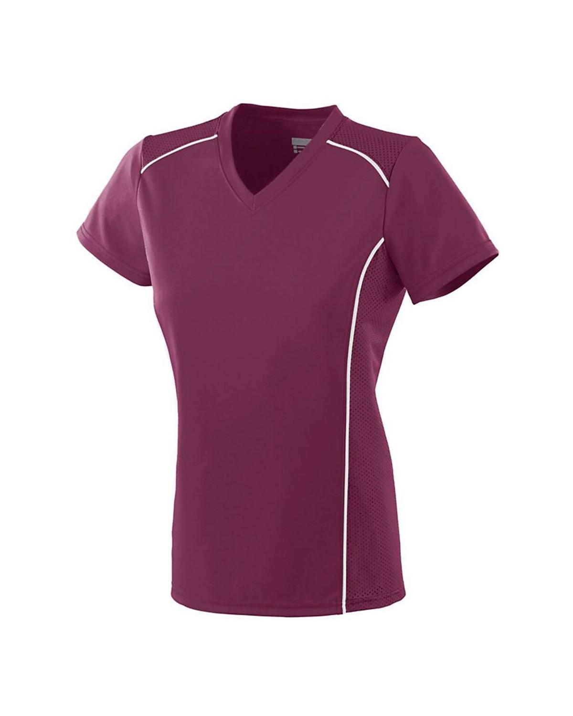 1093 Augusta Sportswear MAROON/ WHITE