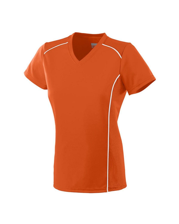 1093 Augusta Sportswear ORANGE/ WHITE