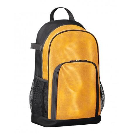 1106 Augusta Sportswear 1106 All Out Glitter Backpack Gold Glitter/ Black