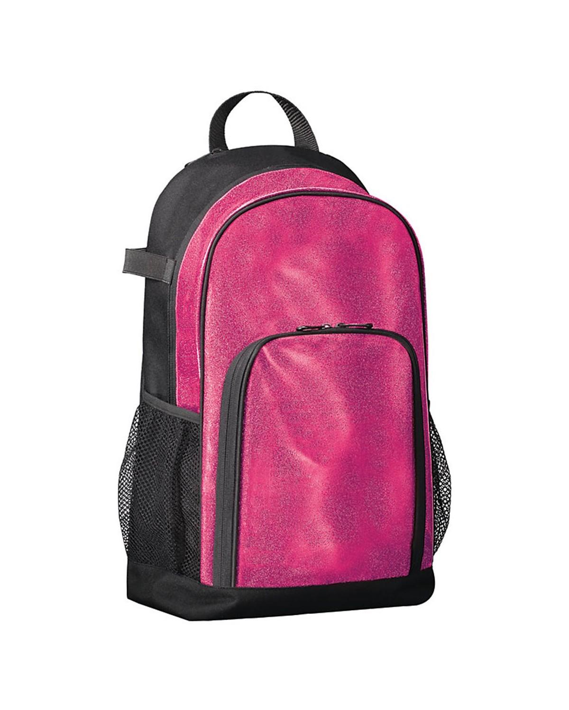 1106 Augusta Sportswear Pink Glitter/ Black