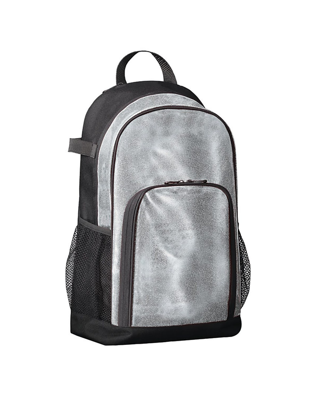 1106 Augusta Sportswear Silver Glitter/ Black