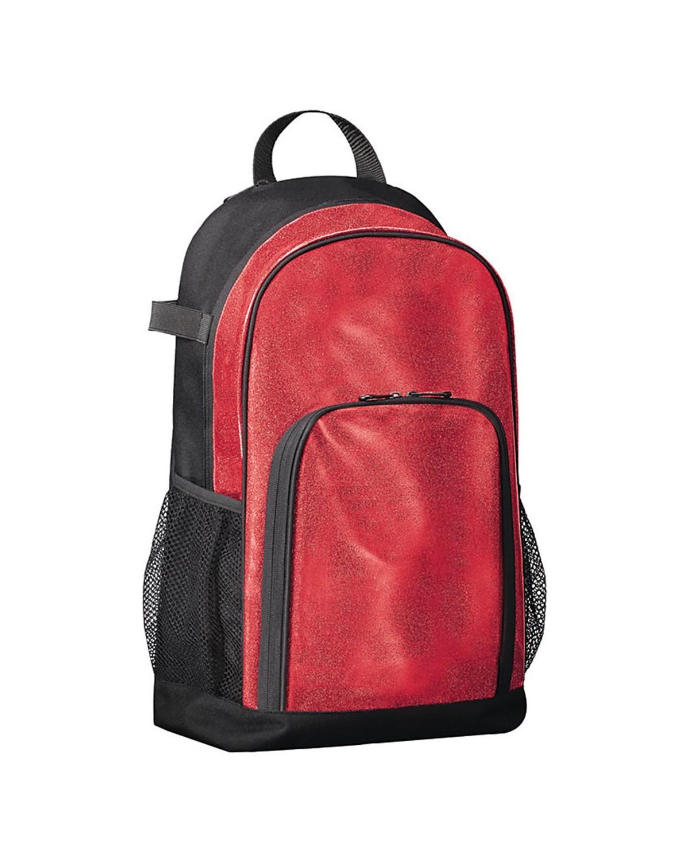 1106 Augusta Sportswear Red Glitter/ Black