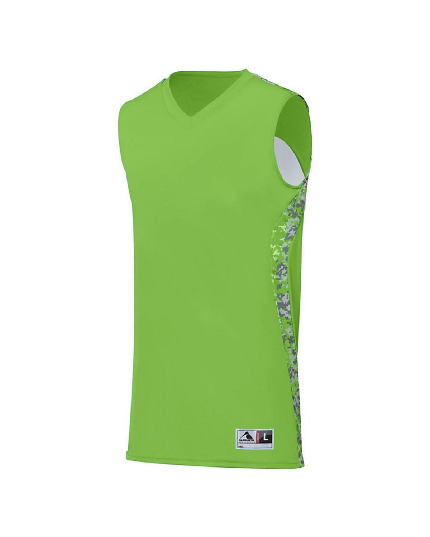 1161 Augusta Sportswear Lime/ Lime Digi