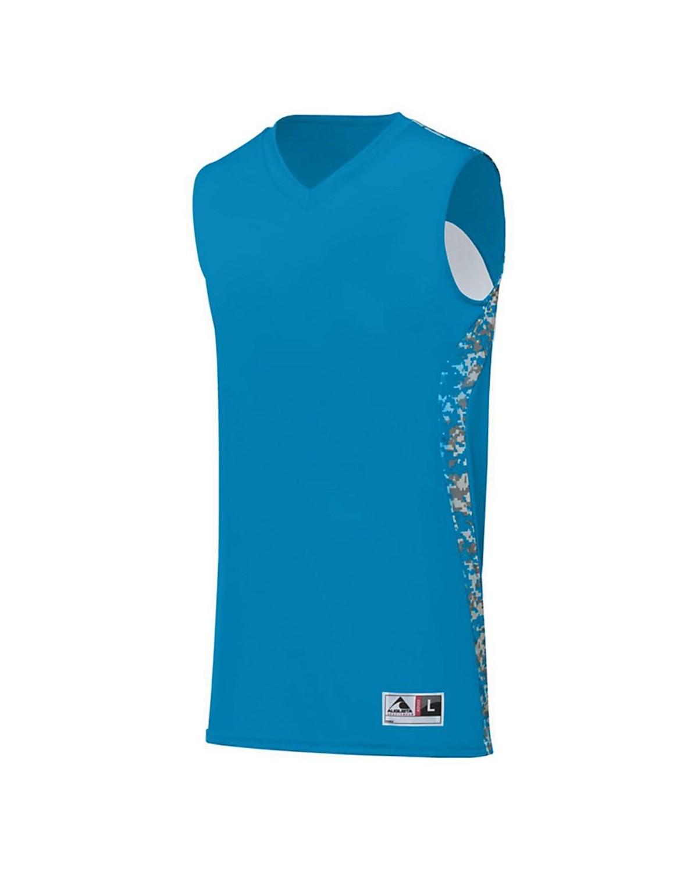 1161 Augusta Sportswear Power Blue/ Power Blue Digi