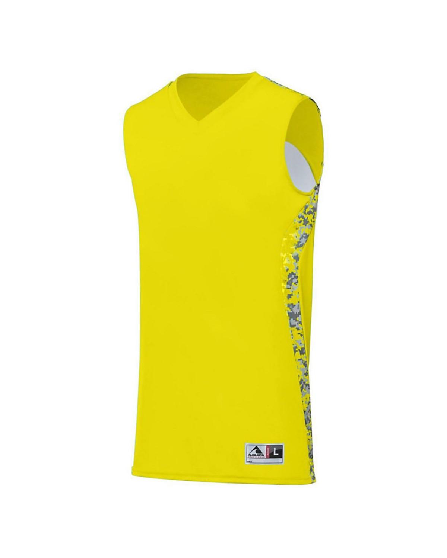 1161 Augusta Sportswear Power Yellow/ Power Yellow Digi