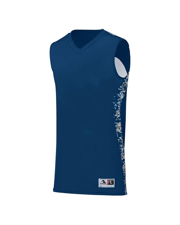 1161 Augusta Sportswear Navy/ Navy Digi