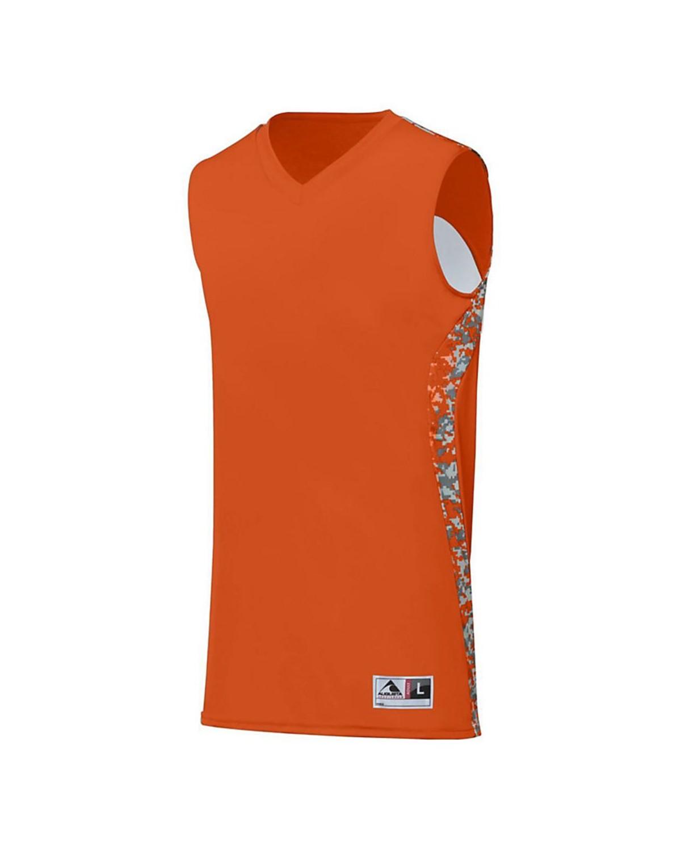 1161 Augusta Sportswear Orange/ Orange Digi