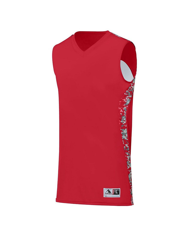 1161 Augusta Sportswear Red/ Red Digi