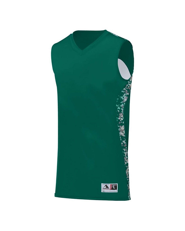 1162 Augusta Sportswear Dark Green/ Dark Green Digi