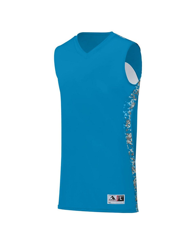 1162 Augusta Sportswear Power Blue/ Power Blue Digi