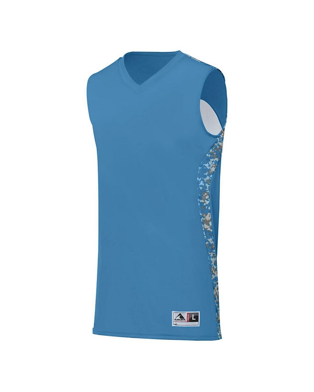 1162 Augusta Sportswear Columbia Blue/ Columbia Blue Digi