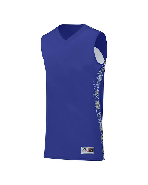 1162 Augusta Sportswear Purple/ Purple Digi