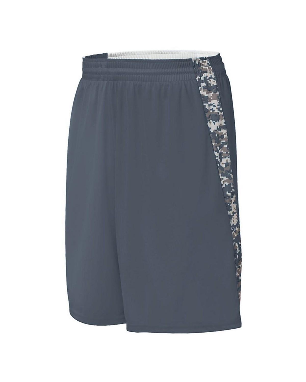 1163 Augusta Sportswear Graphite/ White Digi