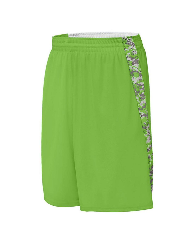 1163 Augusta Sportswear Lime/ Lime Digi