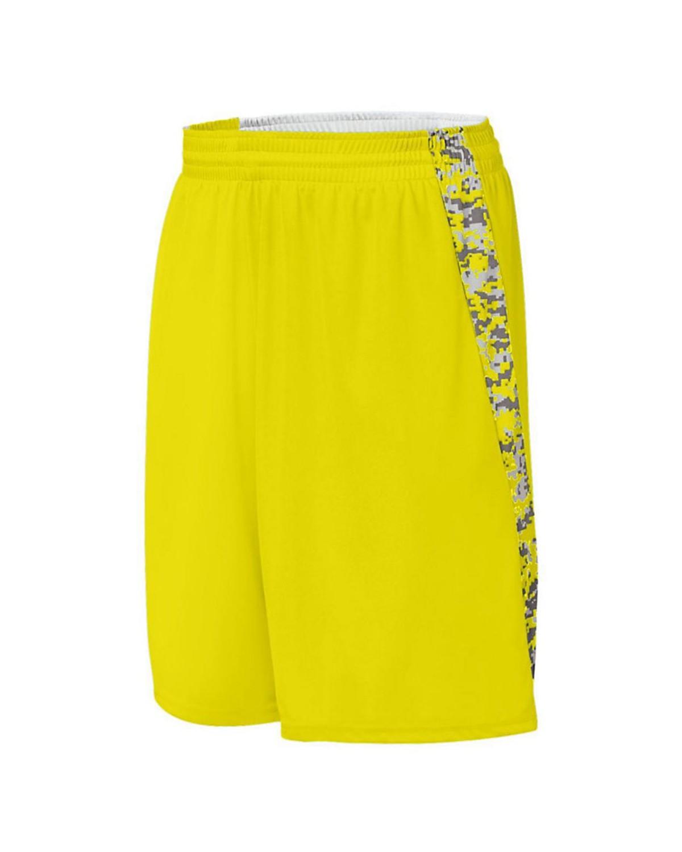 1163 Augusta Sportswear Power Yellow/ Power Yellow Digi