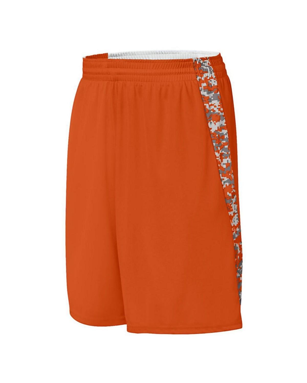 1163 Augusta Sportswear Orange/ Orange Digi