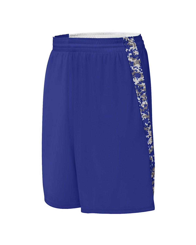 1163 Augusta Sportswear Purple/ Purple Digi