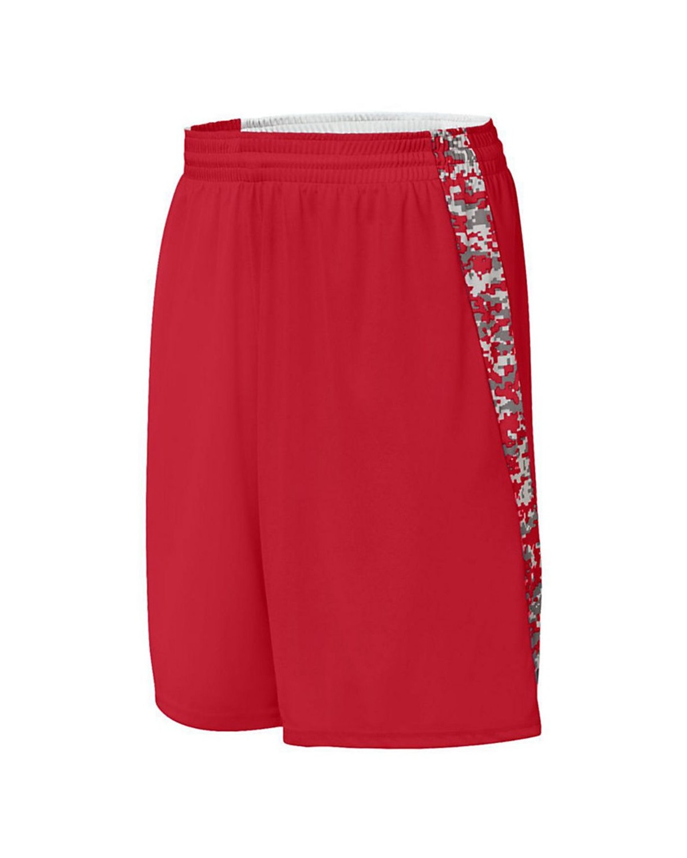 1163 Augusta Sportswear Red/ Red Digi