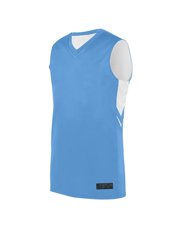 1166 Augusta Sportswear Columbia Blue/ White