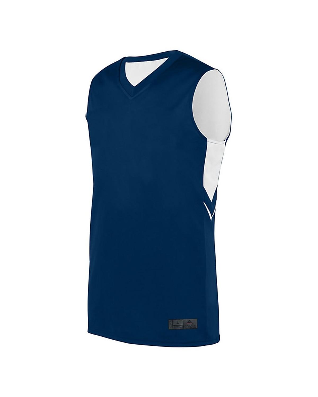 1166 Augusta Sportswear NAVY/ WHITE