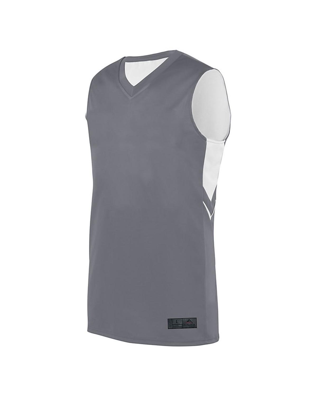 1167 Augusta Sportswear GRAPHITE/ WHITE