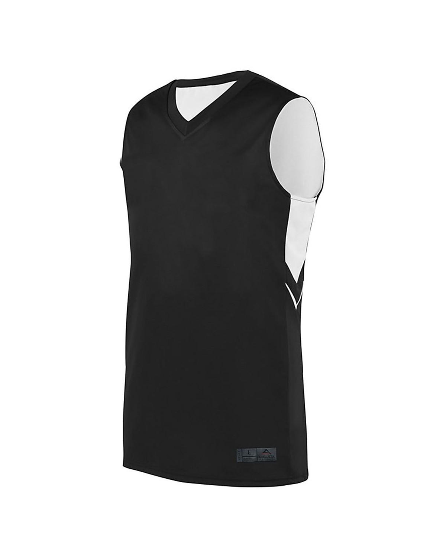 1167 Augusta Sportswear BLACK/ WHITE