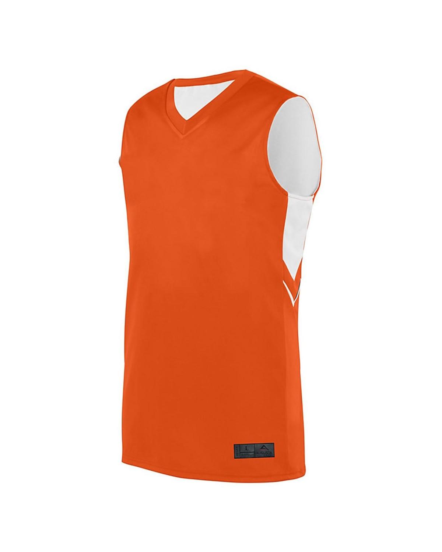 1167 Augusta Sportswear ORANGE/ WHITE