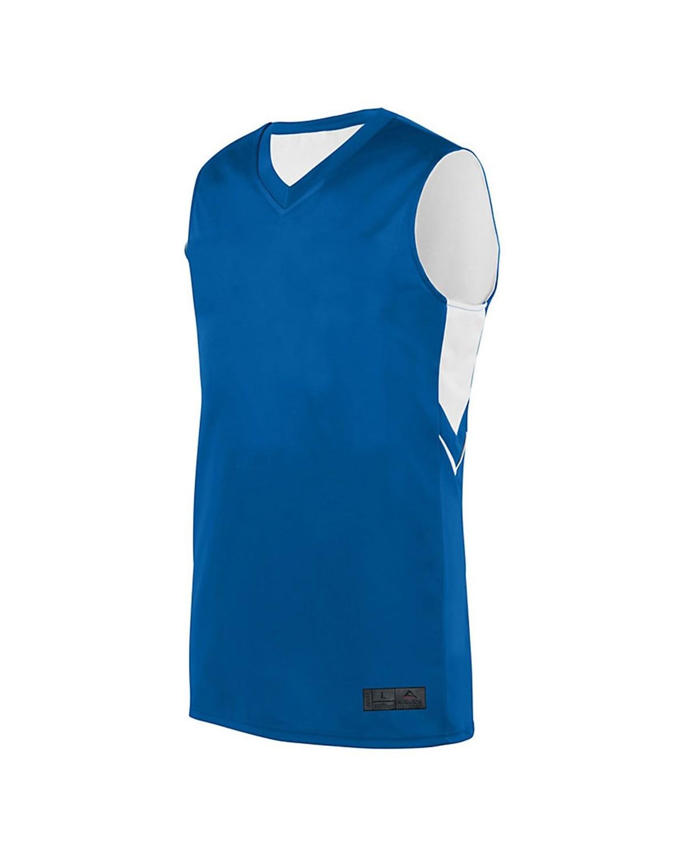 1167 Augusta Sportswear ROYAL/ WHITE