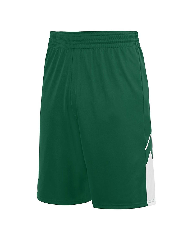 1168 Augusta Sportswear Dark Green/ White