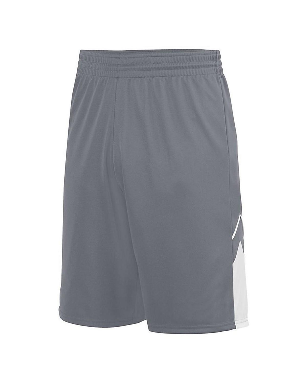 1169 Augusta Sportswear GRAPHITE/ WHITE