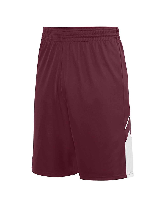 1169 Augusta Sportswear MAROON/ WHITE