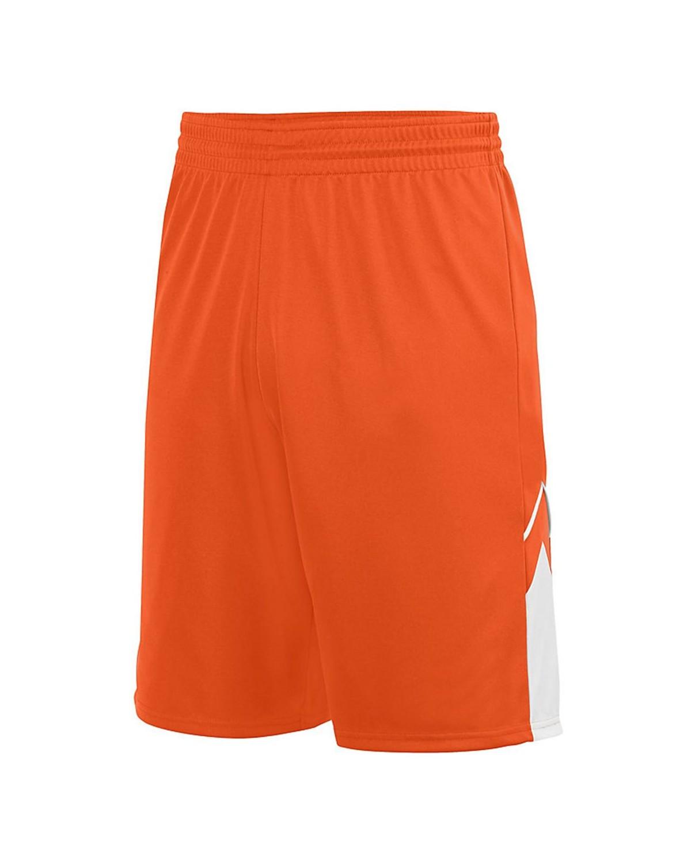 1169 Augusta Sportswear ORANGE/ WHITE