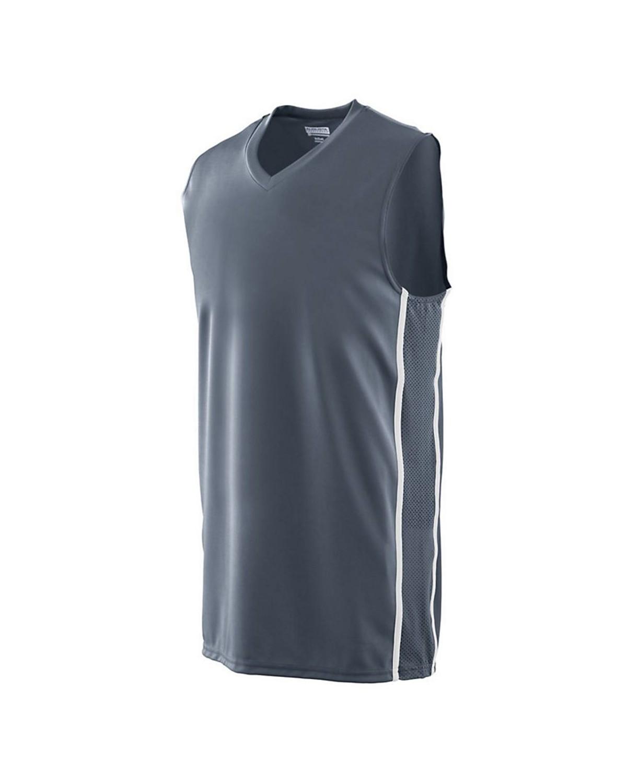 1180 Augusta Sportswear GRAPHITE/ WHITE