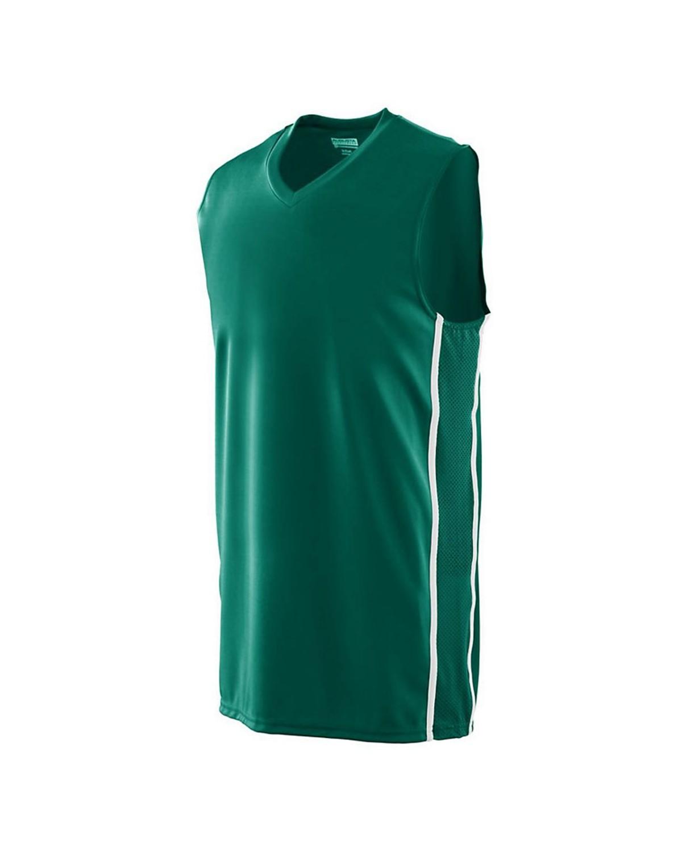 1180 Augusta Sportswear Dark Green/ White