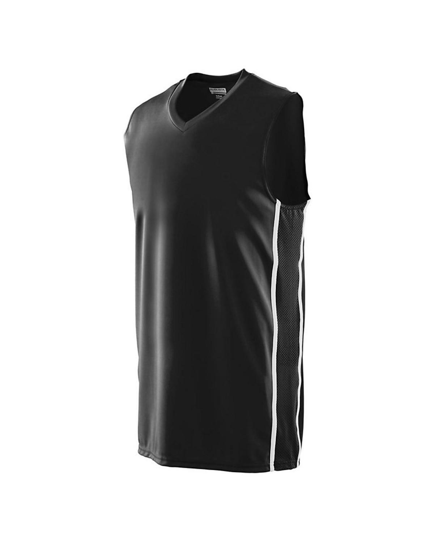 1180 Augusta Sportswear BLACK/ WHITE
