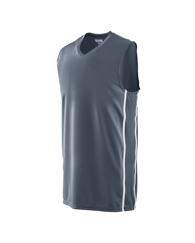 1181 Augusta Sportswear GRAPHITE/ WHITE