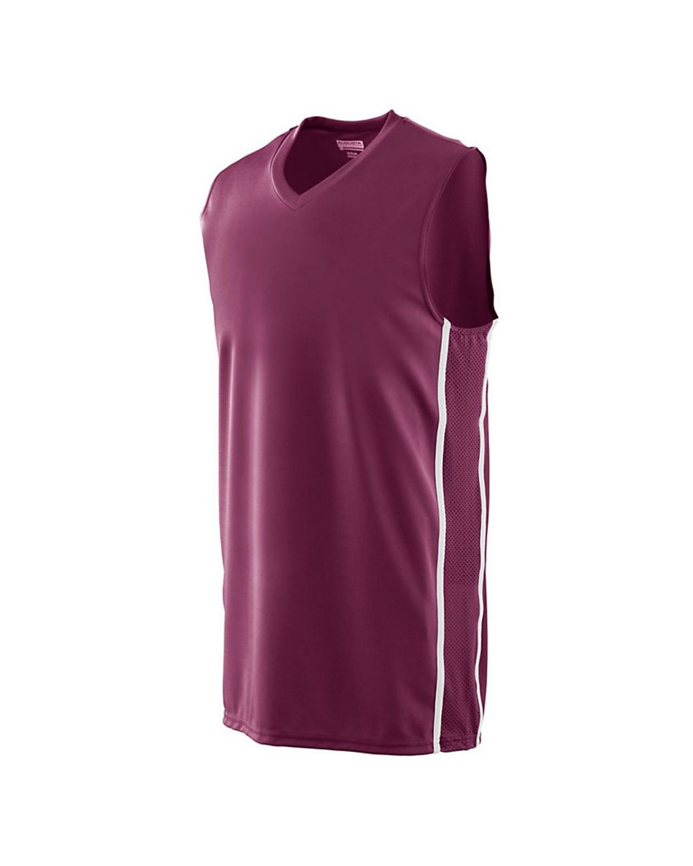 1181 Augusta Sportswear MAROON/ WHITE