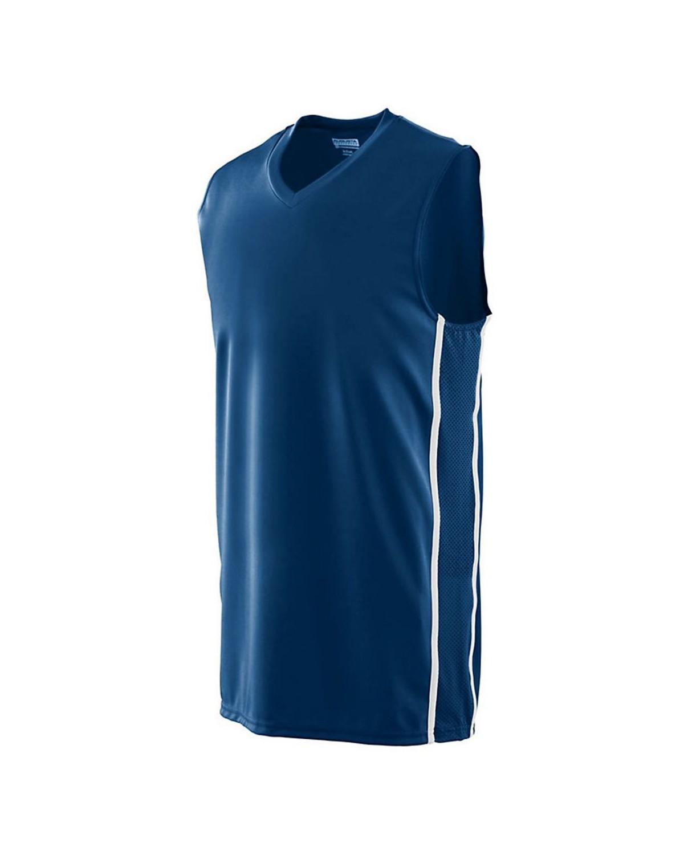 1181 Augusta Sportswear NAVY/ WHITE