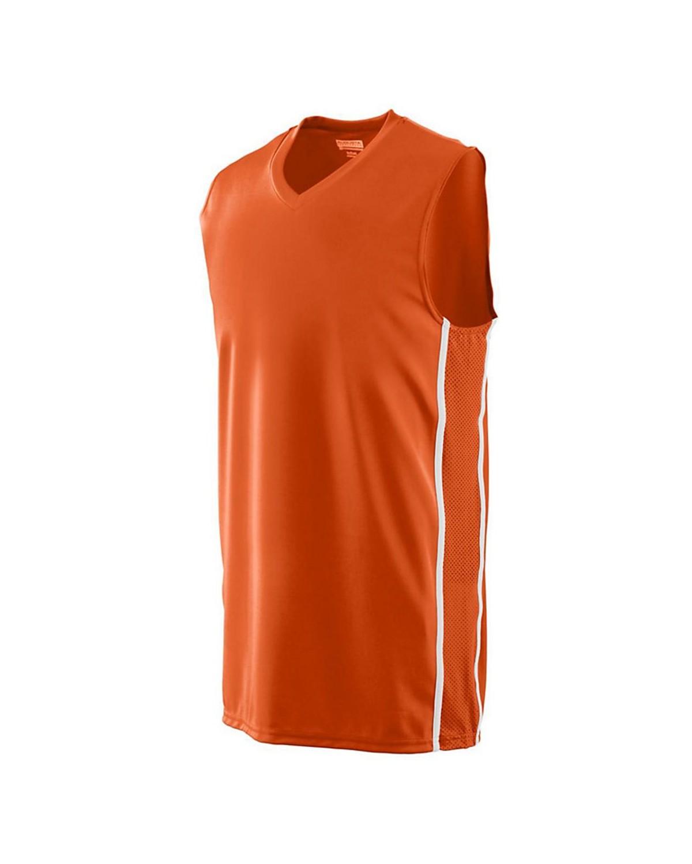 1181 Augusta Sportswear ORANGE/ WHITE