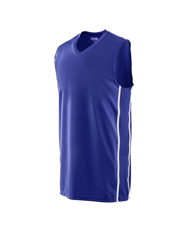 1181 Augusta Sportswear PURPLE/ WHITE