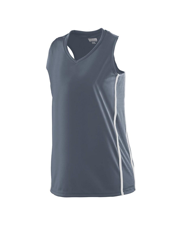 1182 Augusta Sportswear GRAPHITE/ WHITE