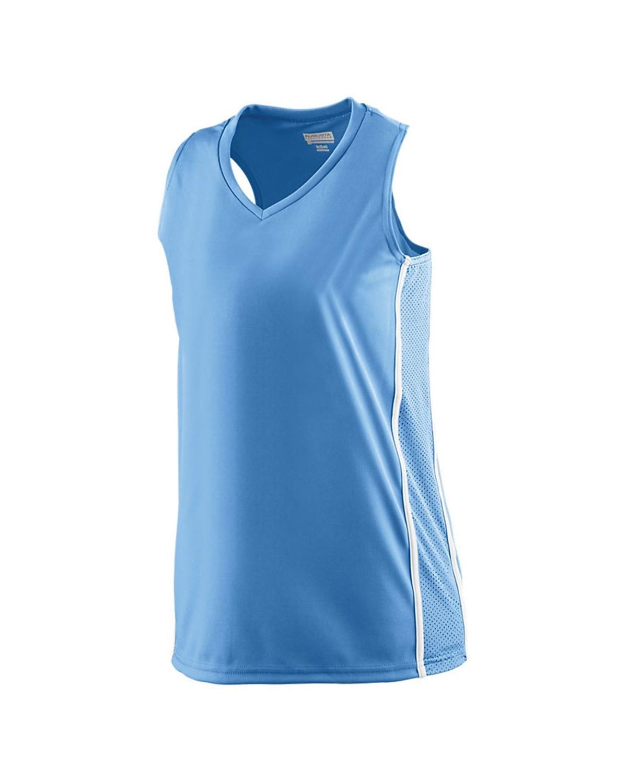 1182 Augusta Sportswear Columbia Blue/ White