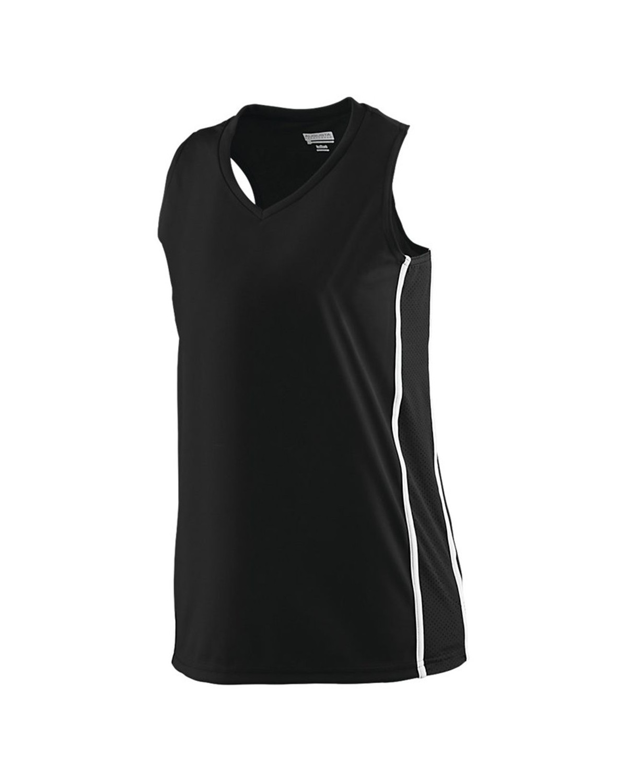 1182 Augusta Sportswear BLACK/ WHITE