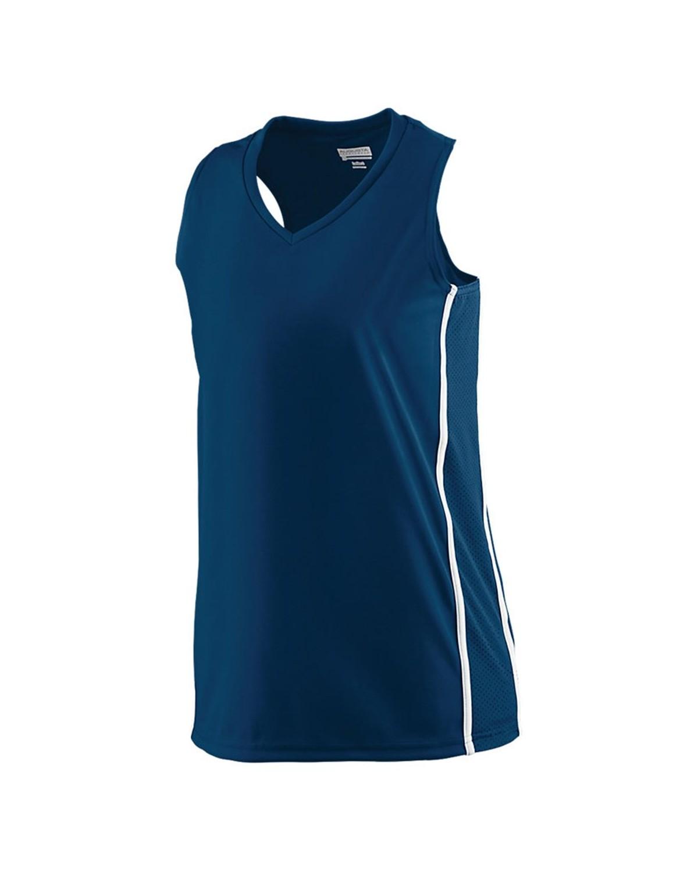 1182 Augusta Sportswear NAVY/ WHITE
