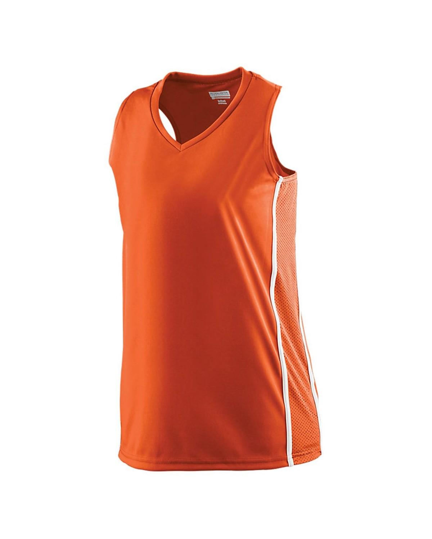 1182 Augusta Sportswear ORANGE/ WHITE