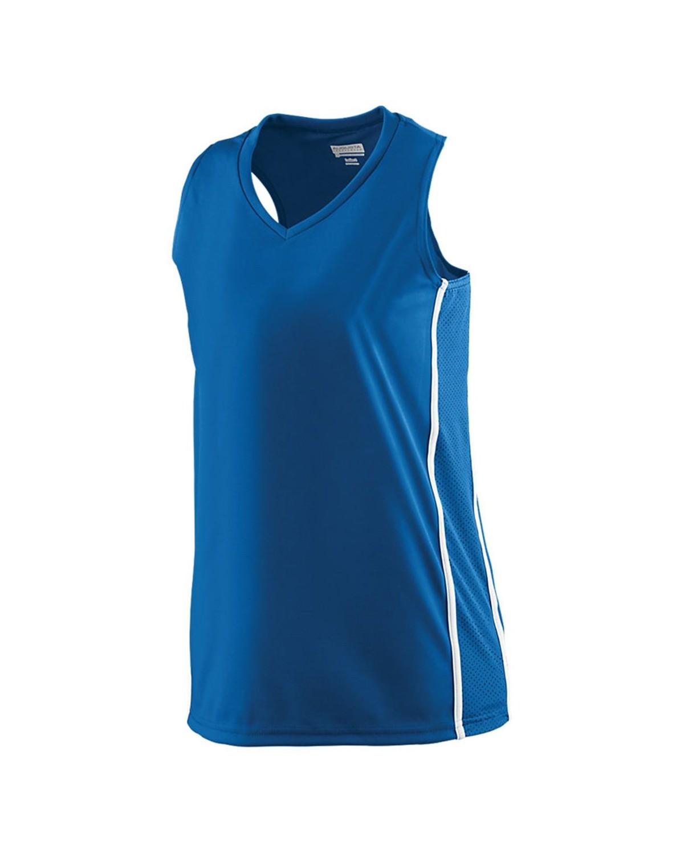 1182 Augusta Sportswear ROYAL/ WHITE