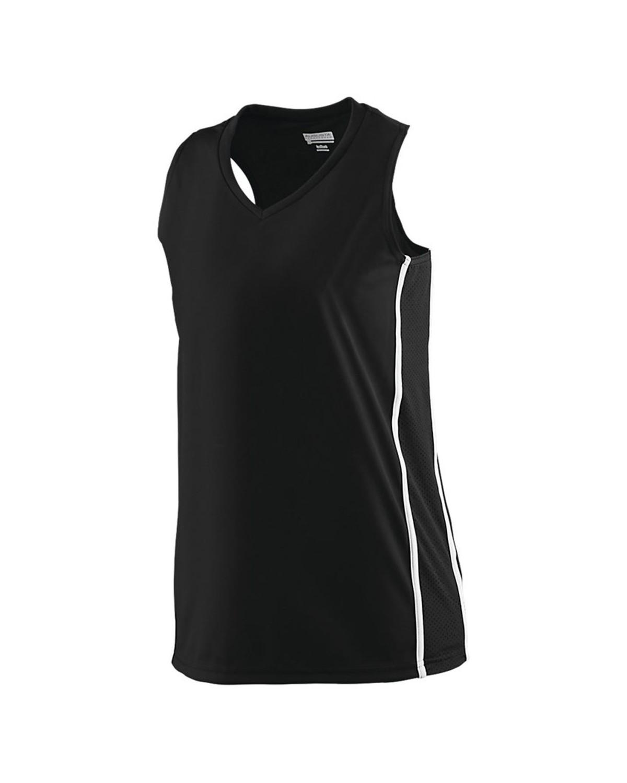 1183 Augusta Sportswear BLACK/ WHITE
