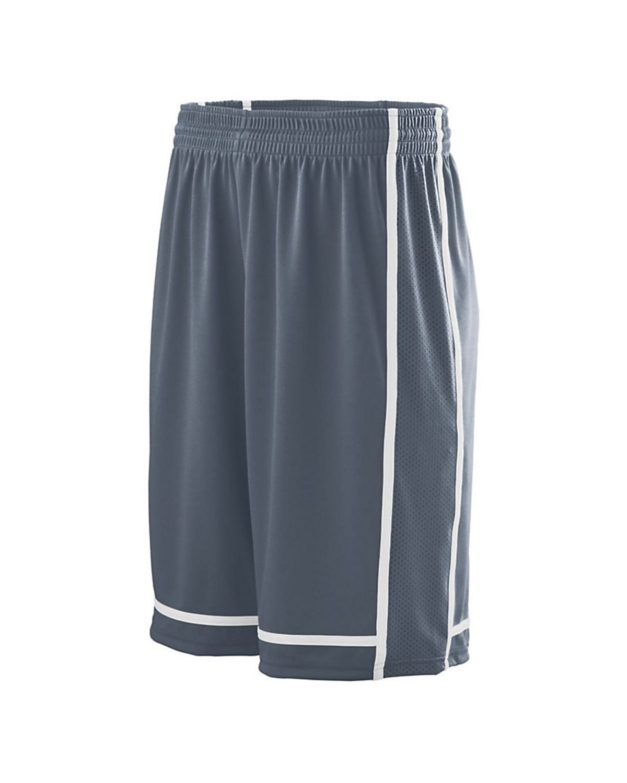 1185 Augusta Sportswear GRAPHITE/ WHITE