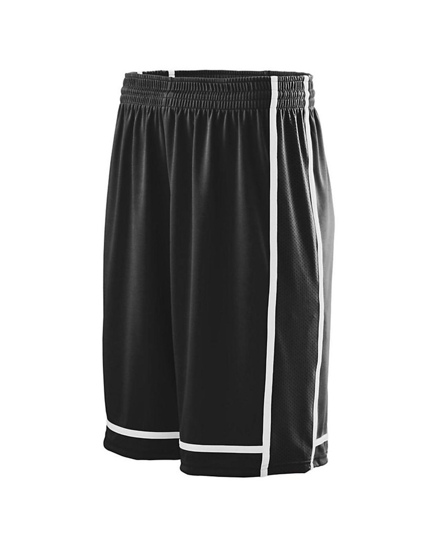 1185 Augusta Sportswear BLACK/ WHITE