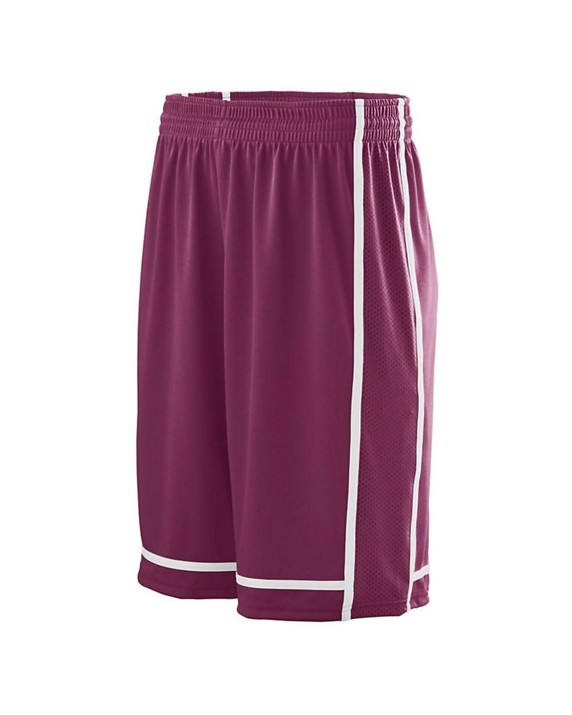 1185 Augusta Sportswear MAROON/ WHITE